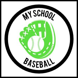 Custom Baseball Mitt Circle Sticker