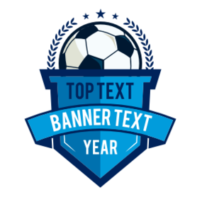 Custom Die-Cut Banner Soccer Sticker
