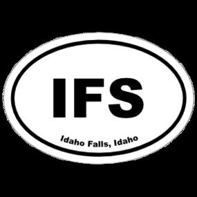 Idaho Falls, Idaho Oval Stickers