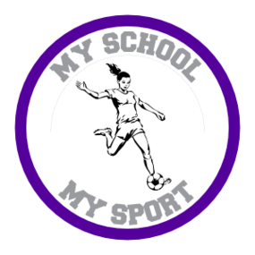 Custom Soccer Girl Circle Sticker