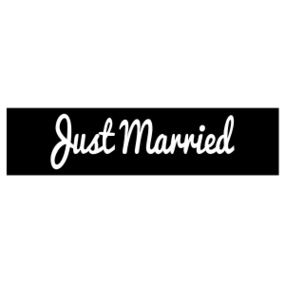 Just Married Customizable Bumper Sticker