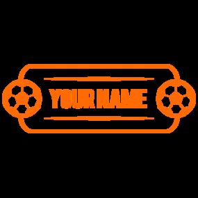 Custom Name Soccer Plate