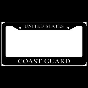 United States Coast Guard License Plate Frame