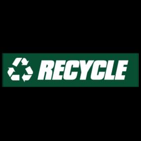 Recycle Customizable Bumper Sticker