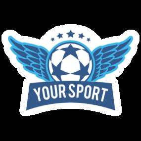Custom Winged Soccer Ball