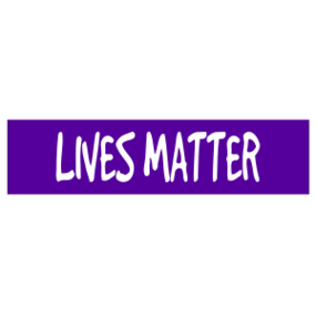 Lives Matter Customizable Bumper Sticker