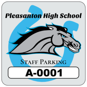 Horseshoe Square School Parking Permit Sticker