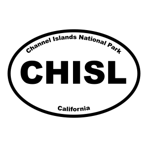 Channel Islands Nationap Park Oval Sticker