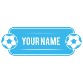 Custom Soccer Plate with Your Name