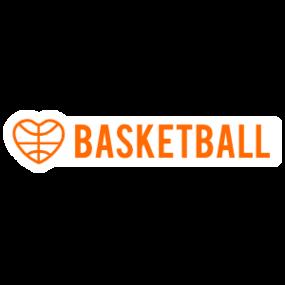 Custom Basketball Long Sticker