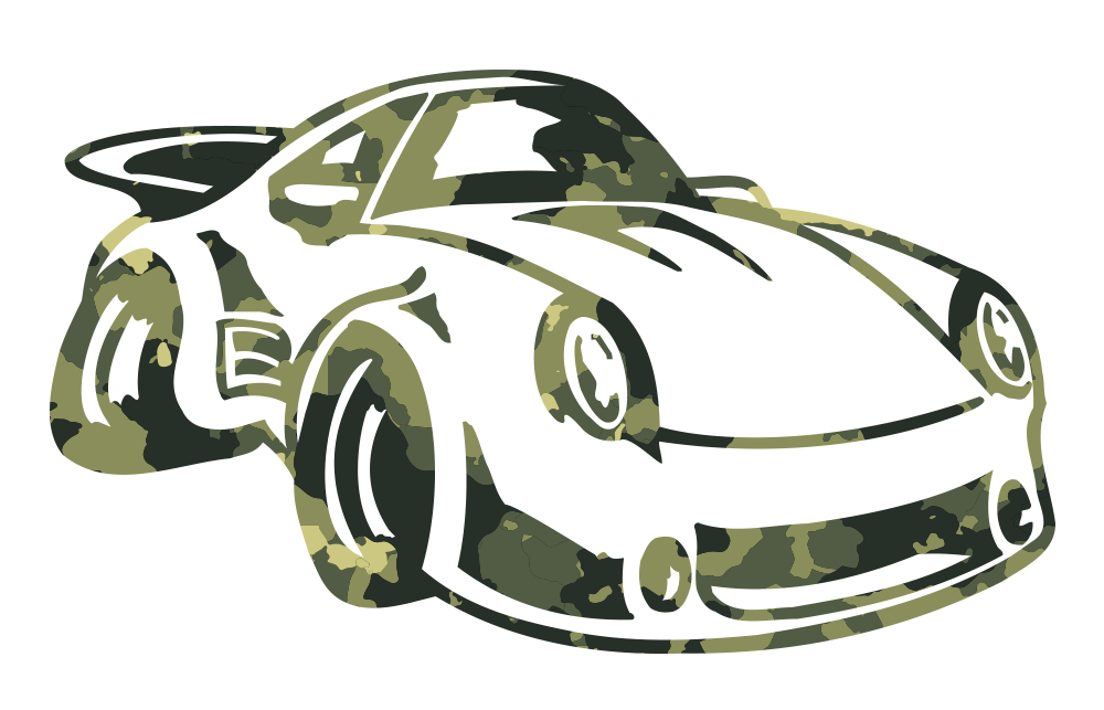 Camouflage Transfer Stickers