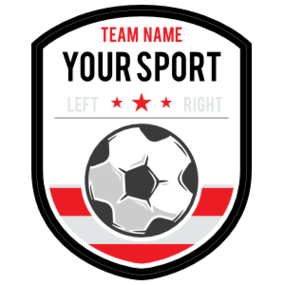 Custom Team Soccer Badge Sticker