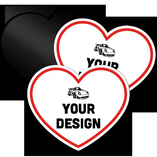 Custom Heart Magnet
