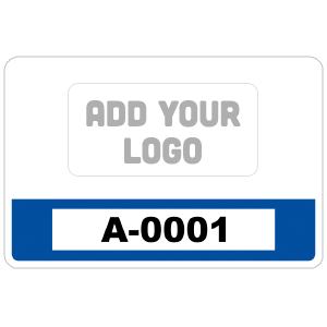 Rectangle Parking Permit with Your Logo