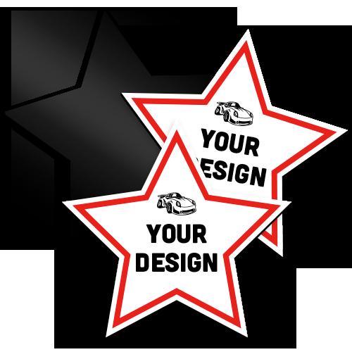 Custom Star Magnet