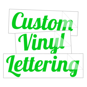 Custom Car Decals – High Quality, Long-lasting Vinyl Material