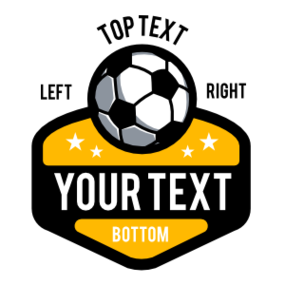 Custom Soccer Star Patch with Stars