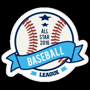Custom Baseball Banner with Text
