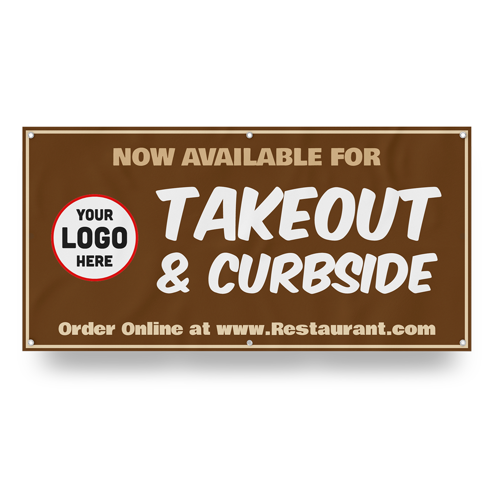 Customizable Takeout Banner