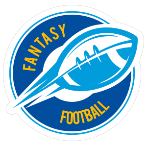 Custom Fantasy Football Circle Sticker