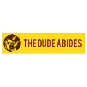 The Dude Abides Customizable Bumper Sticker