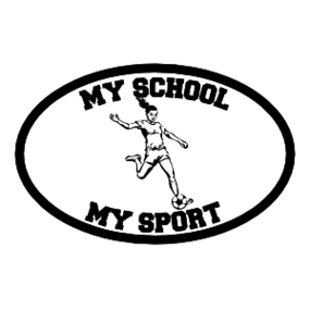 Custom Soccer Girl Oval Sticker