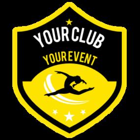 Custom Gymnastics Jumping Shield Sticker