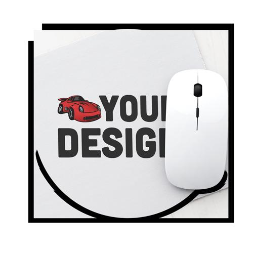 Custom Round Mouse Pad