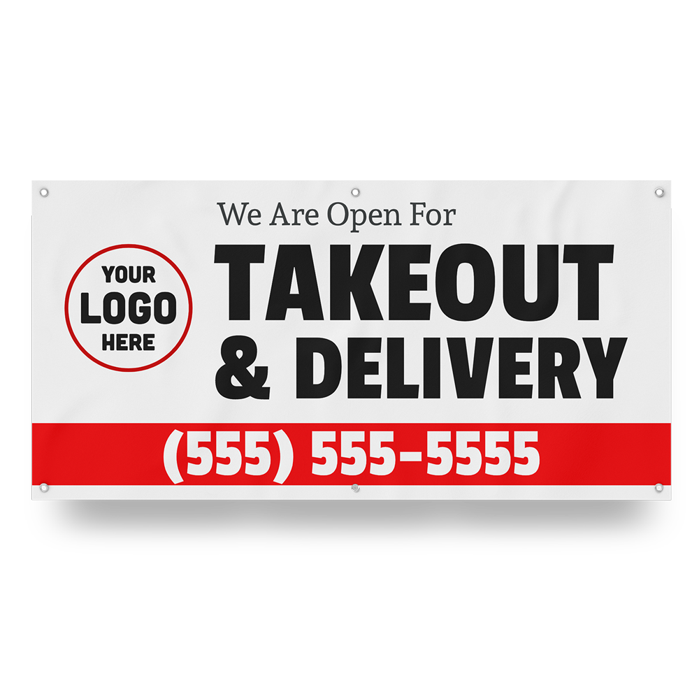 Customizable Delivery Banner