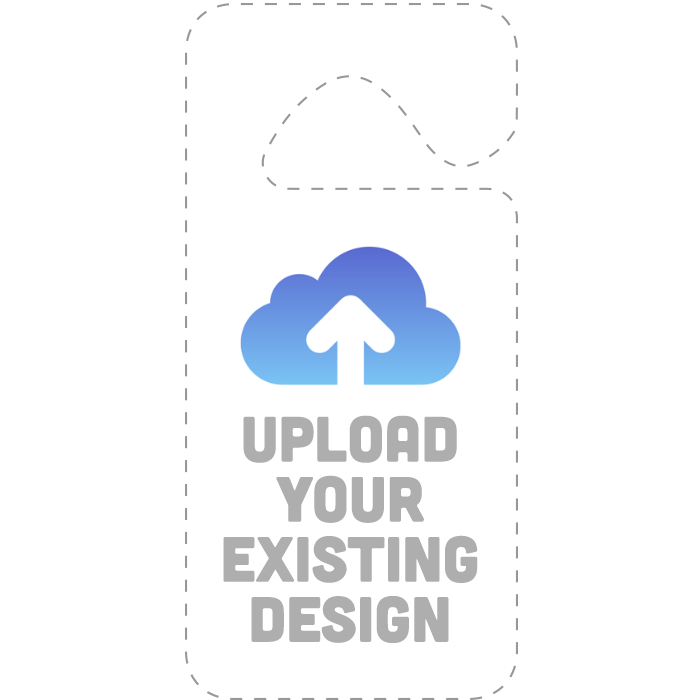 Upload An Existing Hang Tag Parking Permit Design