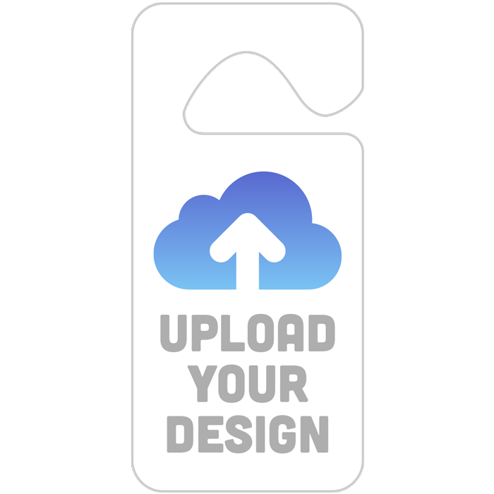 Upload Your Own Parking Permit Hang Tag Design