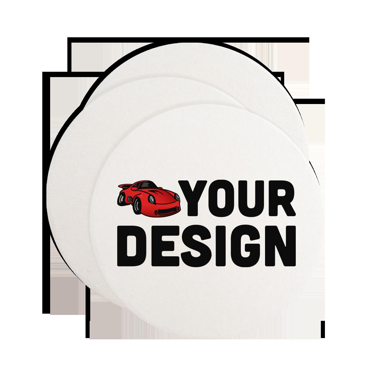 Custom Circle Paper Coasters