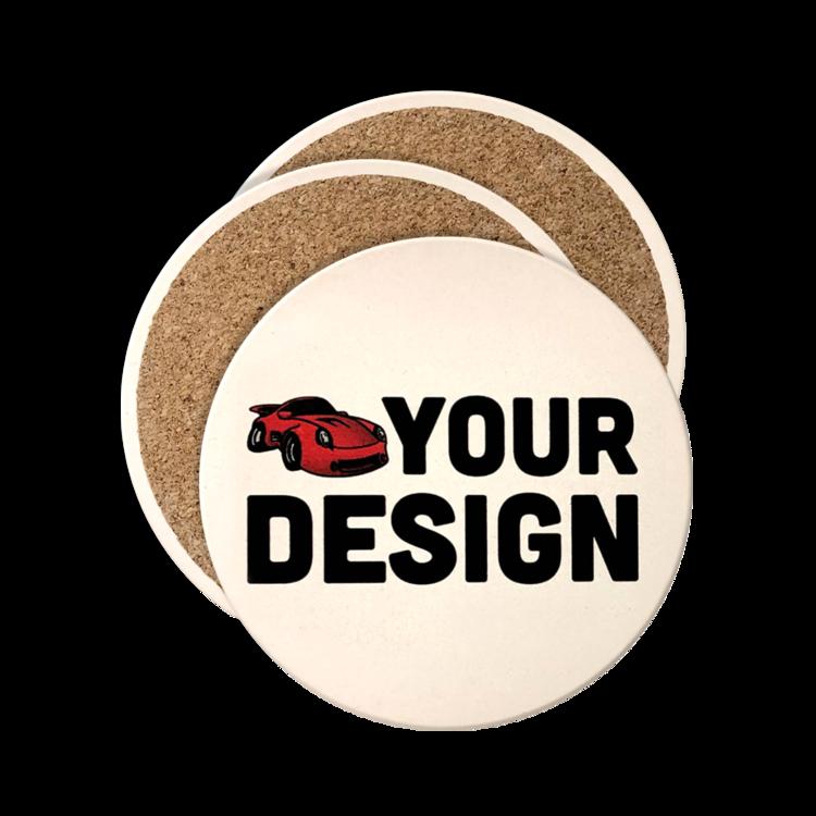 Custom Circle Stone Coasters