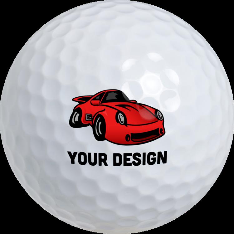 Custom Golf Balls - 3 Pack