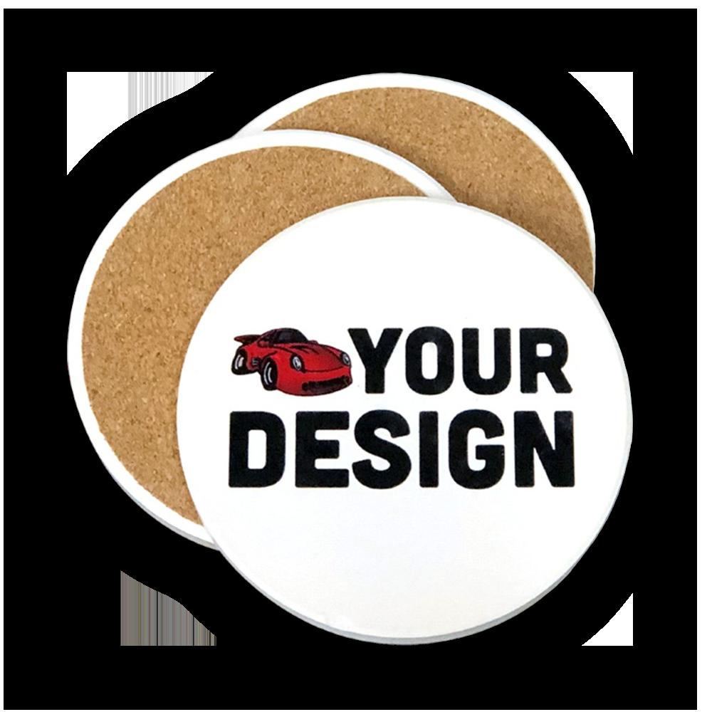 Custom Circle Coasters