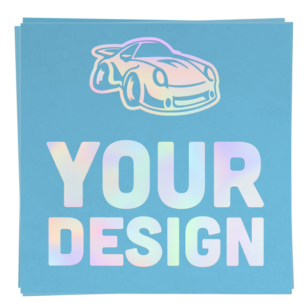 Holographic Transfer Stickers