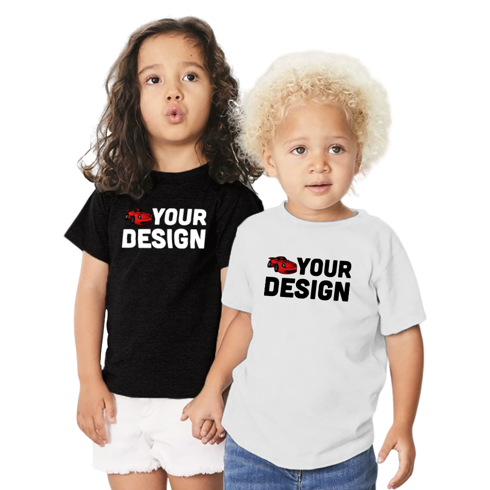 Custom Toddler Short Sleeve Tee