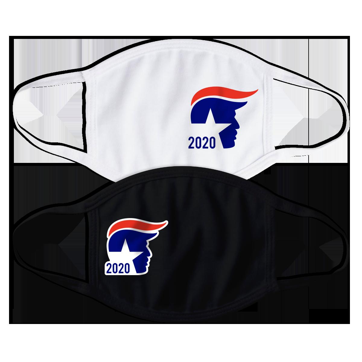 Donald Trump 2020 Wave Face Mask