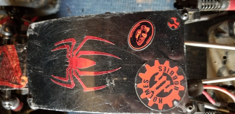 Brett's photograph of their Custom Oval Stickers with Text