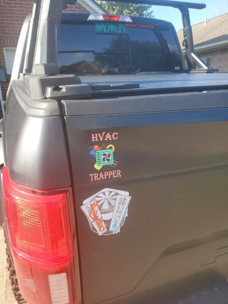 Dwight's photograph of their Multi-Color Transfer Stickers