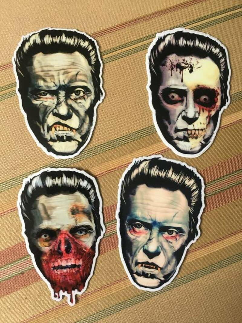 Karl's photograph of their Die Cut Stickers