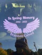 Amber's review of In Loving Memory Angel Wings Sticker
