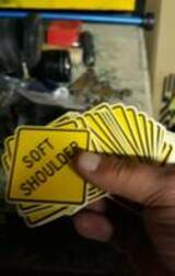 JOSHUA's review of Warning Soft Shoulder Sticker