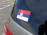 Marko's review of Serbia Flag Sticker