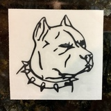 STEVEN's review of Pitbull Dog Head Sticker