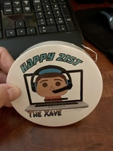 Timothy's review of 9 Custom Paper Coasters for $9.99!