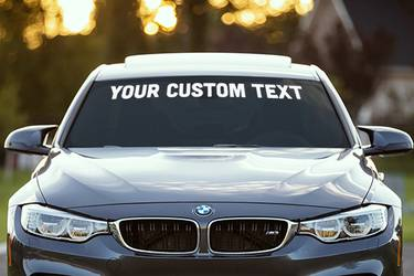 Windshield Stickers
